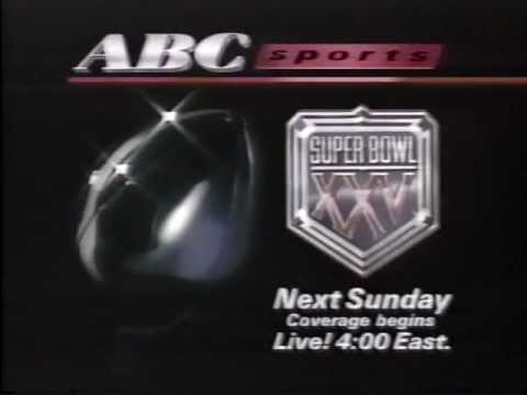 Super Bowl XXV Promo (Jan. 20, 1991)