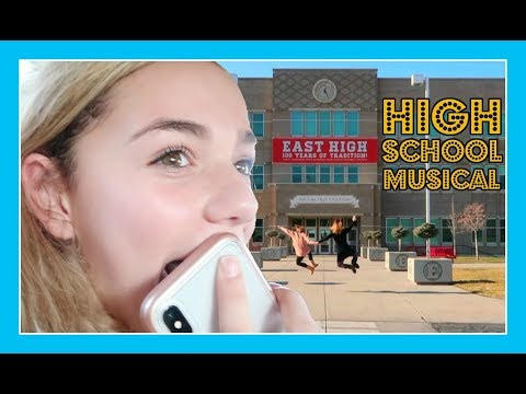 SHE VISITS HIGH SCHOOL MUSICAL AND HER REACTION IS PRICELESS!