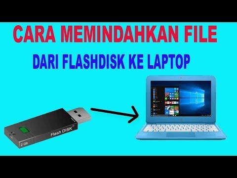 Cara Memasukan File dari Komputer ke Flashdisk, Cara copy File dari Komputer ke Flashdisk, Cara memi.