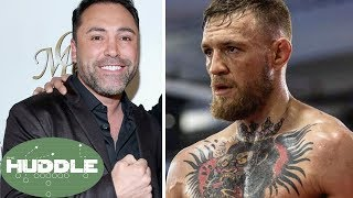 Can Oscar De La Hoya Beat Conor McGregor in TWO Rounds?  The Huddle