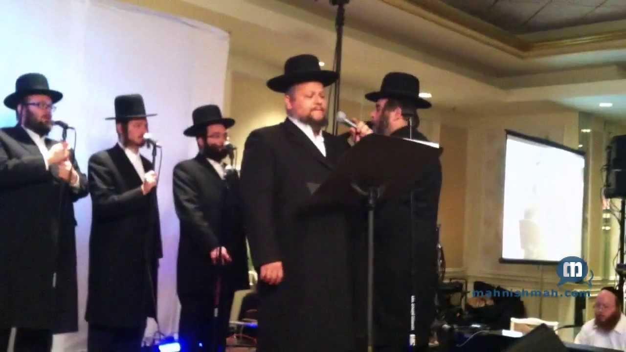 Chazzan Helfgott At RCCS Dinner In Monsey - Ribono Shel Olam