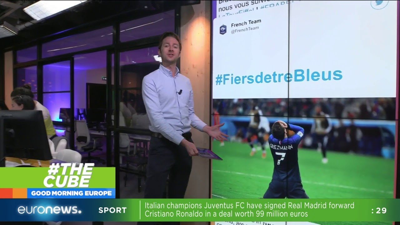 #TheCube | France beat Belgium to secure a place in the World Cup final