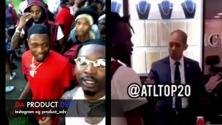 Why Goon Confronted Hoodrich Pablo Ice Box Jewelry Store Atlanta..DA PRODUCT DVD