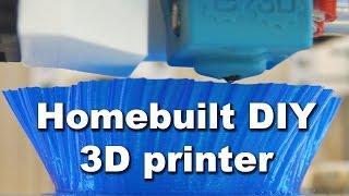 Homebuilt DIY CoreXY 3D printer