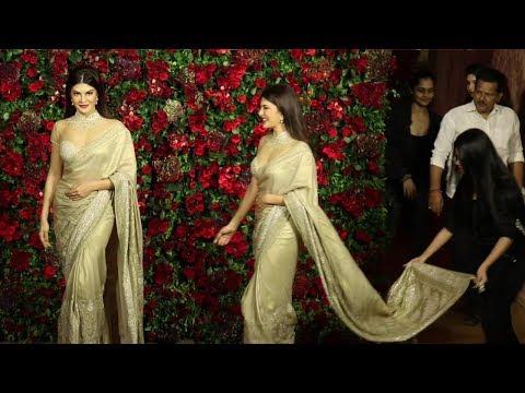 Salman Girlfriend Jacqueline Fernandez At Ranveer Deepika Wedding Reception