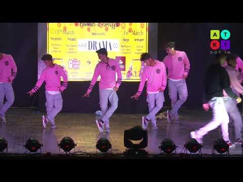 Western Dance Showcase by 'Crunk' from Sri Aurobindo College | Mecca 2018