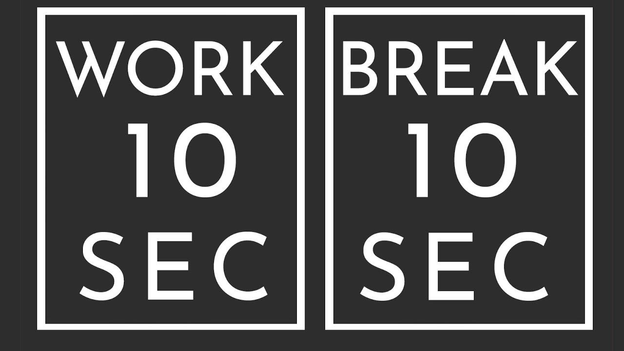 Download BEST SPORT INTERVAL TIMER - 10 sec Exercise / 10 sec Break / 20 Rounds / GYM TABATA HIT - TIMER