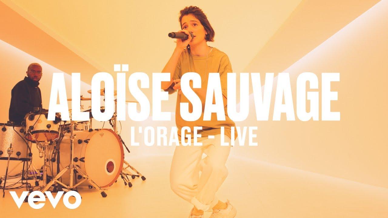 Aloïse Sauvage — L'orage (Live) | Vevo DSCVR