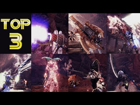 Monster Hunter World [MHW] - The TOP 3 WEAPONS For Each Wpn Class (Part 1)