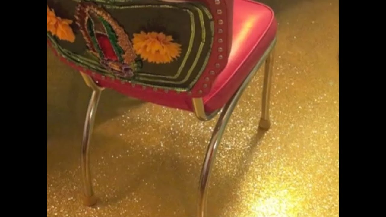 How To Glitter A Floor Diy Project Youtube