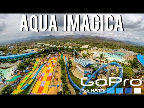 BIGGEST WATER PARK | AQUA IMAGICA | INDIA | GOPRO HERO 5