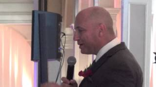 Best father of the bride wedding speech 2014
