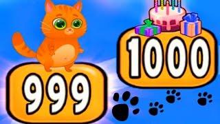 КОТЕНОК БУБУ 97  МОЙ ВИРТУАЛЬНЫЙ КОТИК  игровой мультик для малышей  Видео для детей