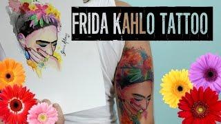 ►TATTOO FLASH◄ time-lapse Frida Kahlo