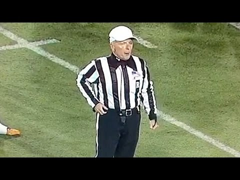 College Football Ref Tells Central Michigan Band & Cheerleaders to Shut Up