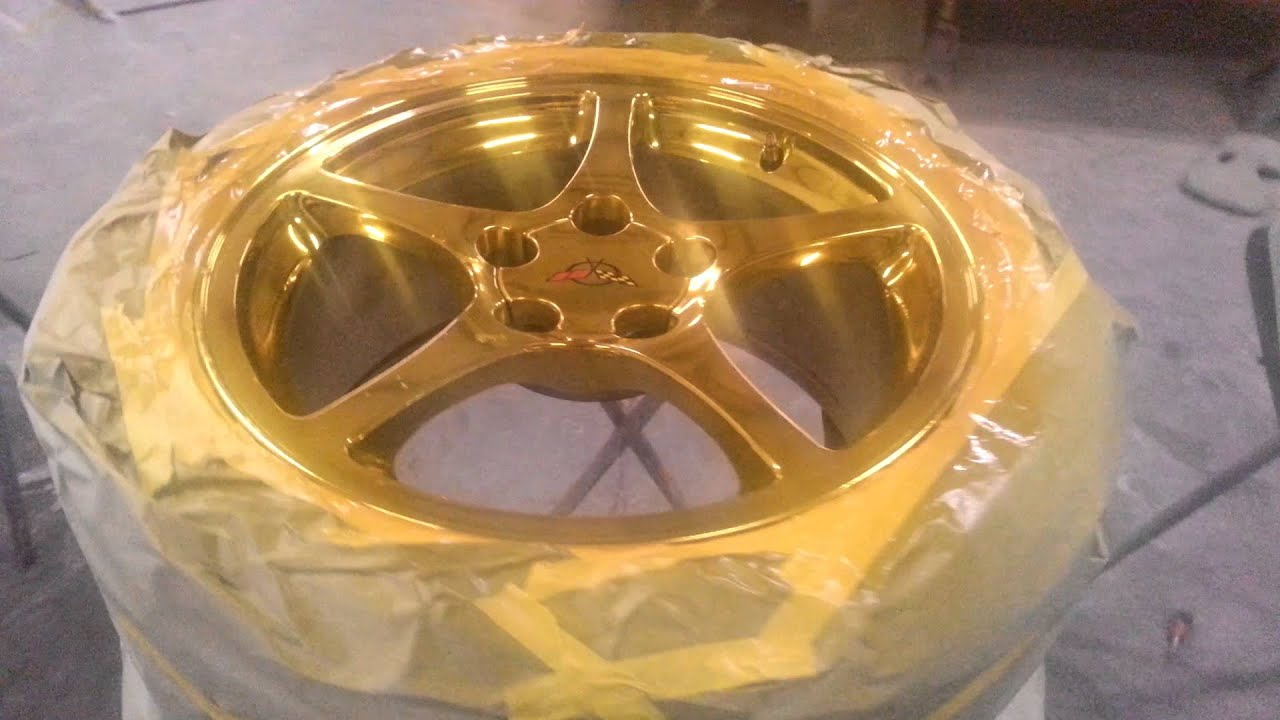 Yellow Candy On Chrome Rims Gold Raleigh Nc You