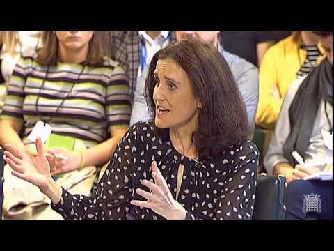 Environment Secretary Theresa Villiers on food standards post-Brexit