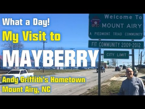 A Trip to Mayberry: My Visit to Andy Griffith's Hometown - Mt. Airy, NC