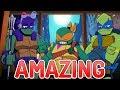 BEST NINJA TURTLES CARTOON? Rise of the TMNT Review