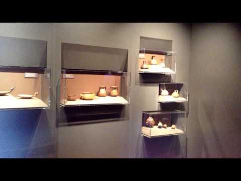 Inca Artifacts Exhibit at the Machu Picchu  Museum in Cusco's Casa Concha