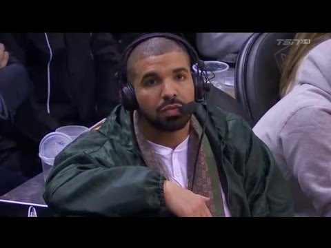 Drake Joins Raptors Broadcast - March 4, 2016