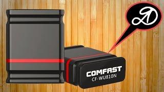 USB WiFi адаптер Comfast (розпакування та огляд). Посилка АлиЭкспресс (21)