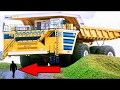 World's Largest Truck in Action : Extreme Mining Dump Truck BelAZ-75710