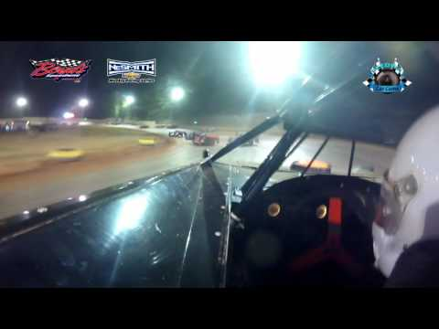 #11 Lavon Sparks - 525 NeSmith Late Model - 4-15-17 Boyd's Speedway - In-Car Camera