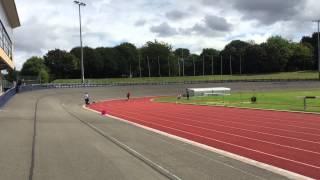 100m sprinter speed endurance training session