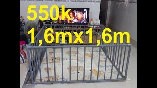 10 phút làm cũi bằng ống nước 500k lớn như cái giường www.codientuvina.com