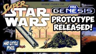 New Sega Genesis Super Star Wars Rom Prototype Released!
