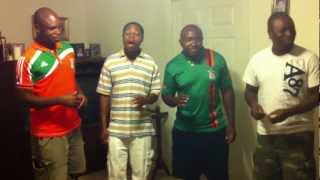 "Zambian Vocal Group singing ""Victim"" from I Need a Father album"