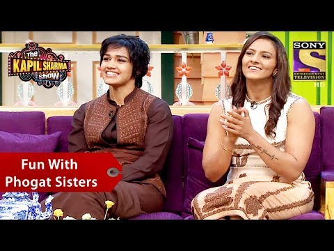 Fun With Phogat Sisters – The Kapil Sharma Show