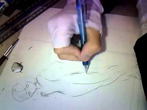 Yusuke Murata Drawing Tatsumaki (Tornado) [USTREAM]