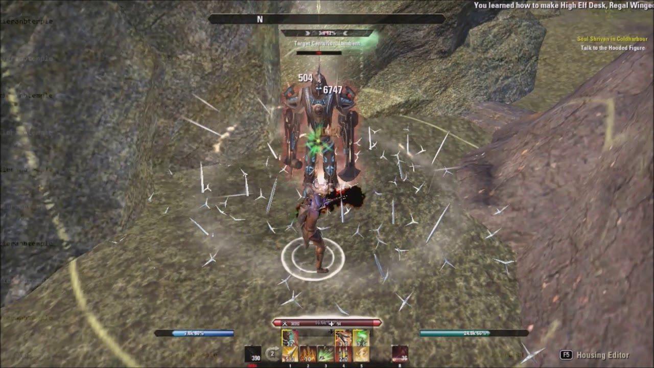 ESO - Bloodthirsty vs Robust Comparison - 26m Dummy - Summerset PTS