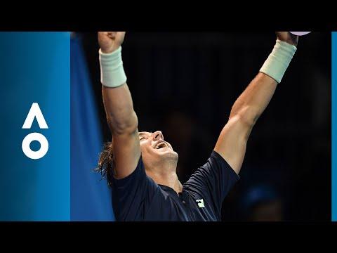 Casper Ruud v Quentin Halys match highlights (1R) | Australian Open 2018
