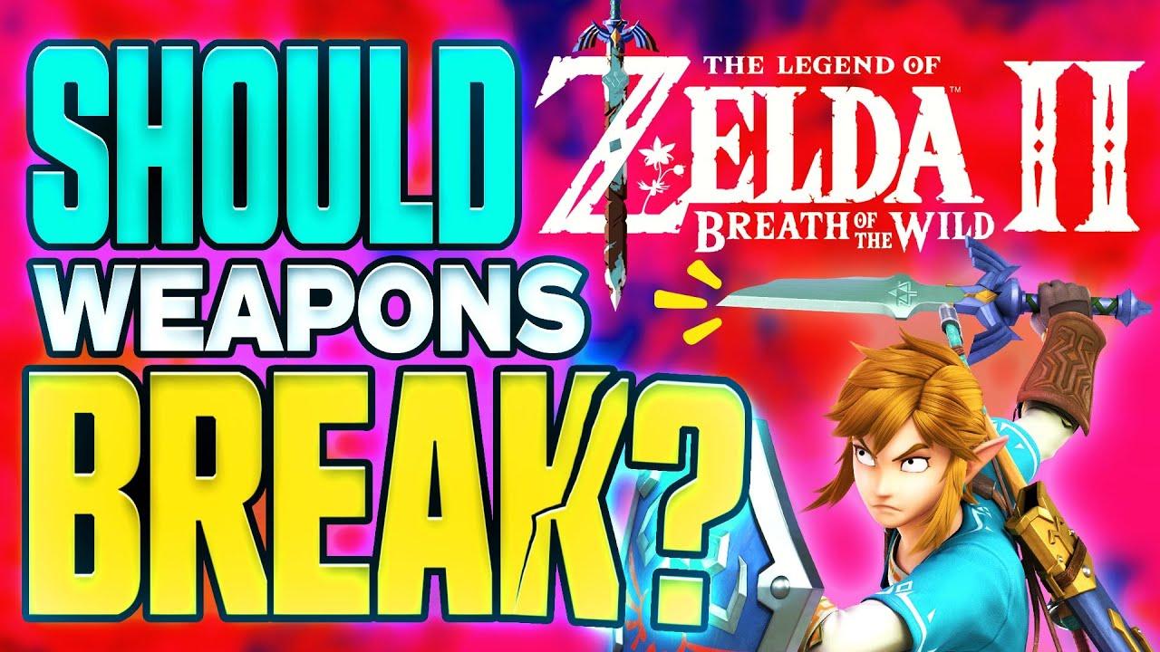 Θα πρέπει να σπάνε τα όπλα στο Legend of Zelda Breath of the Wild 2;