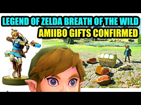 Amiibo Gifts Officially Confirmed in Legend Of Zelda Breath Of The Wild