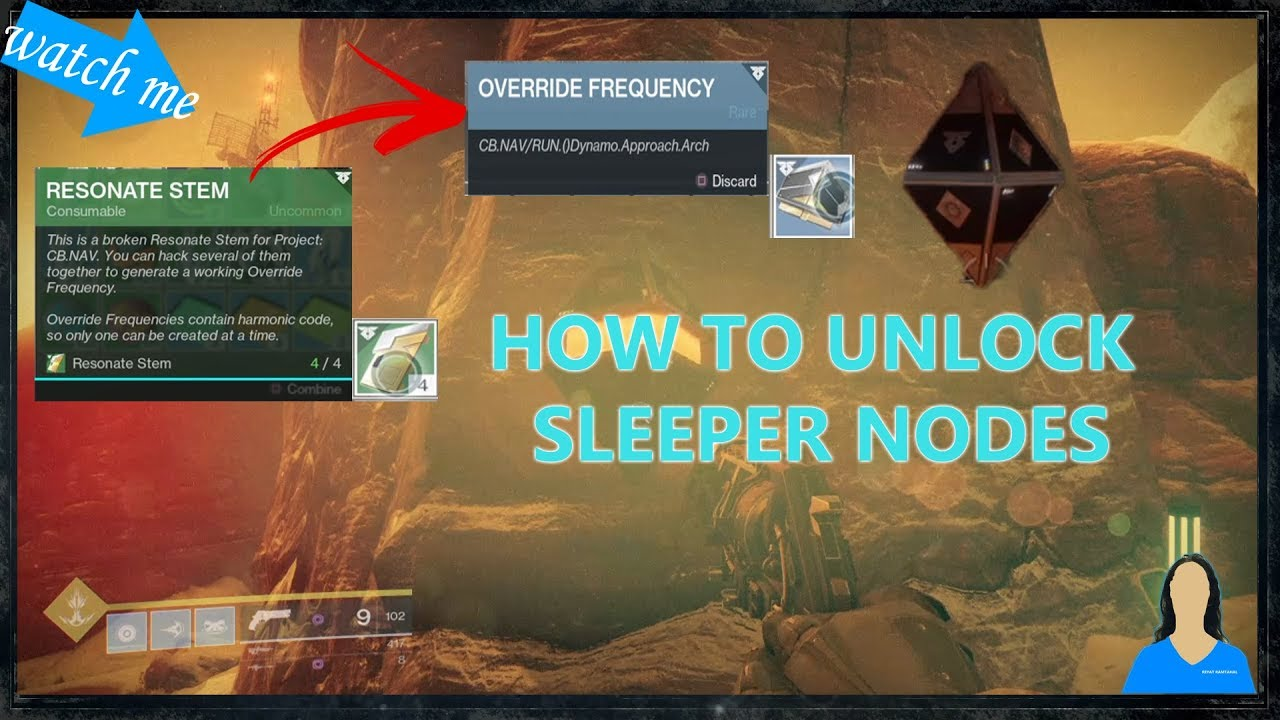 How to Get Frequencies on Mars to Open Sleeper Nodes