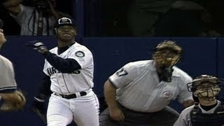 1995 ALDS Gm4: Griffey homers in sixth to break tie