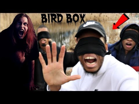 BIRD BOX IN REAL LIFE WE FOUND THE RIVER (GHOST HAUNTED US)