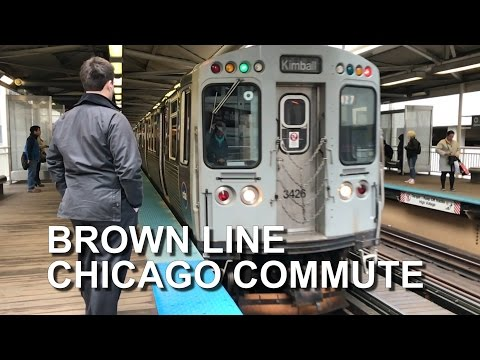 CHICAGO COMMUTE BROWN LINE