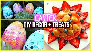 Diy: Marbled Egg & Healthy Snack Ideas
