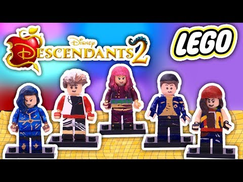 Descendants 3 LEGOS from DISNEY CHANNEL Custom LEGO Minifigures - Toy Transformations en streaming