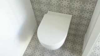 portugese tegel in hal en toilet