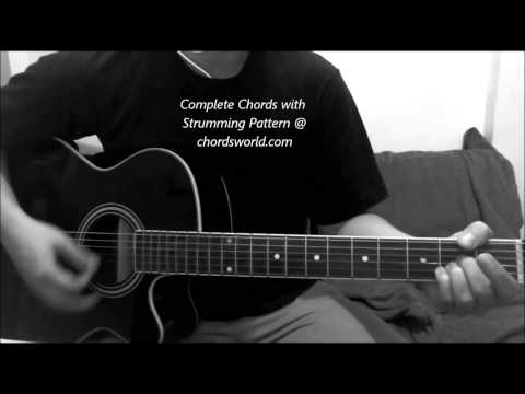 One Chords by Ed Sheeran - chordsworld.com