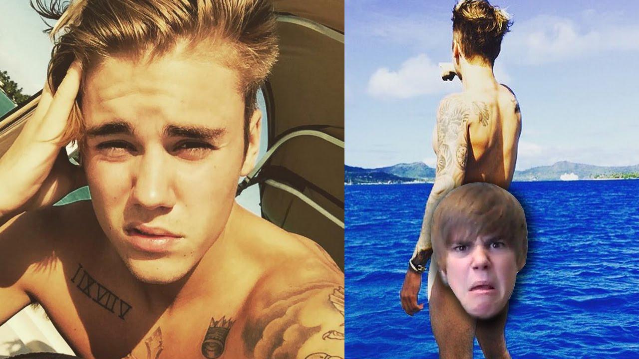 naked instagram bieber Justin