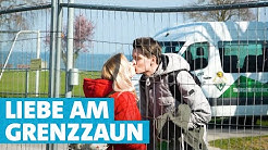 Corona-Grenzzaun trennt Liebespaare in Konstanz