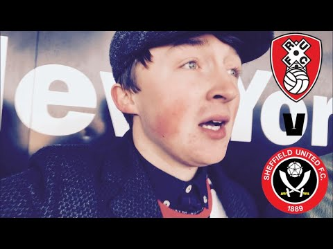 LUCKY POINT - ROTHERHAM UNITED V SHEFFIELD UNITED MATCHDAY VLOG