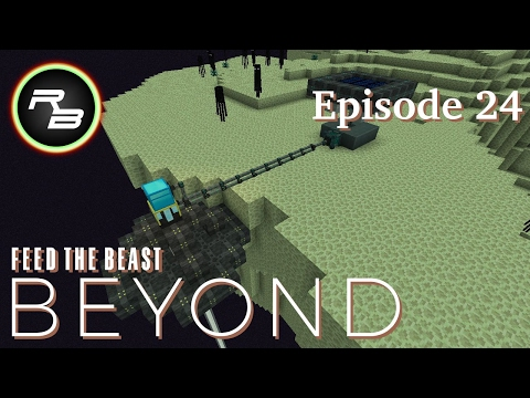 Modded Minecraft : FTB Beyond : Ep 24 : The Sun Never Sets in the End (Environmental Tech)